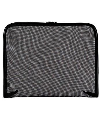 MUJI - 尼龍網布文件袋- 黑 B5-1入
