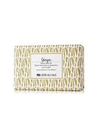 ORIGINS - 薑味暖暖香氛潔膚皂-200g