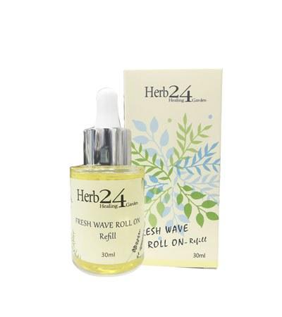 Herb24 - 活力舒緩滾珠精油棒(補充瓶)-30ml