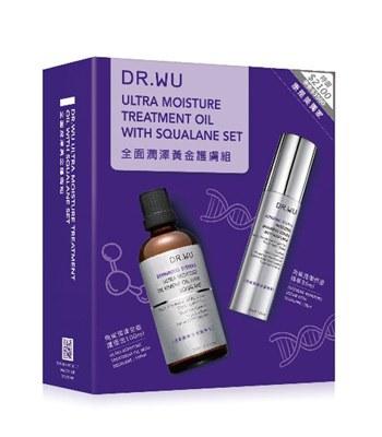 DR.WU - 全面潤澤黃金護膚組-1組