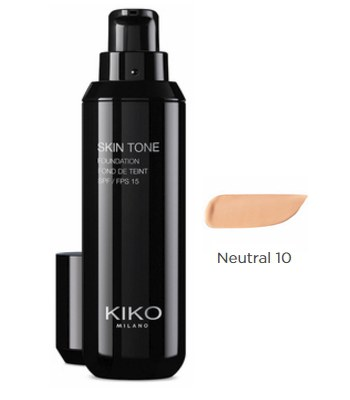 HongKong buyer - 【回饋價】Kiko Milano-光感粉底液SPF 15-N10-30ml
