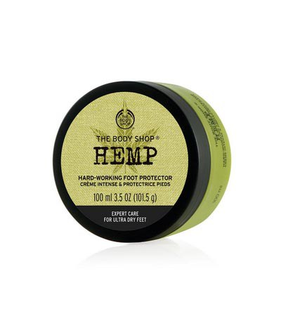 THE BODY SHOP - 大麻籽密集修護護足霜-100ml
