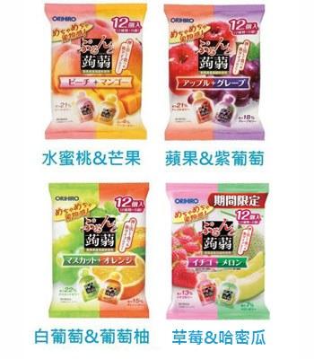 Japanese snacks - ORIHIRO 低卡綜合蒟蒻果凍