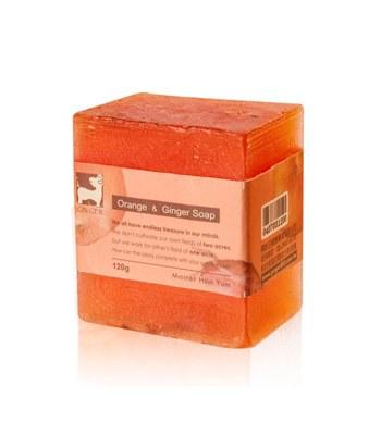 GINGER - 甜薑丹橘薑芬皂-120g