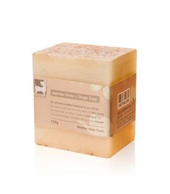 GINGER - 茉莉青橄欖薑芬皂-120g