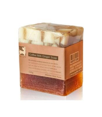 GINGER - 咖啡牛奶薑皂-120g