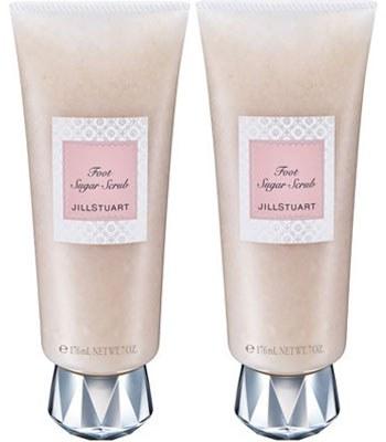 Jill Stuart (品牌85折) - 【回饋組】RELAX純白花漾美足磨砂蜜雙罐組-無外盒-200gX2