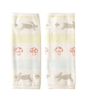 Hoppetta - 童趣森林六層紗揹巾口水巾-1對