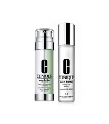 CLINIQUE  - 【回饋價】美白淡斑加倍組-I/II 偏乾性肌膚使用-1組