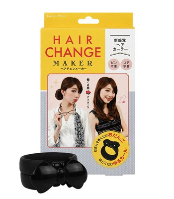 KAI - 魅力滿點造型轉換髮圈-1入
