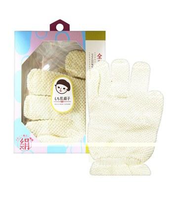 KAI - 嫩膚絹子沐浴手套-1對