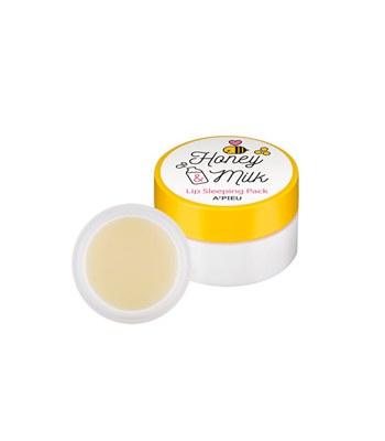 Apieu - 蜂蜜牛奶晚安美唇膜-6.7g
