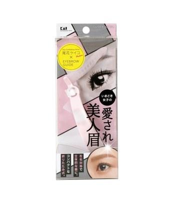 KAI - 美人眉修眉板- 可愛平眉-1入