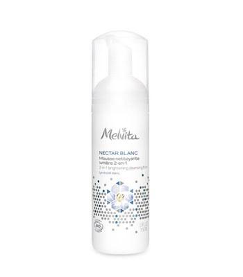 Melvita - 百合花姸亮白潔顏慕絲-150ml