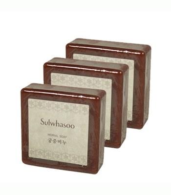 sulwhasoo - 【隨手包】宮中蜜皂-3入