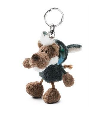 eslite - NICI披羊皮的狼鑰匙圈/黑-10X8X8CM