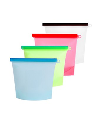 MYHUO Sundries - EASY&HOME 收納食物矽膠袋(顏色隨機出貨)-1入