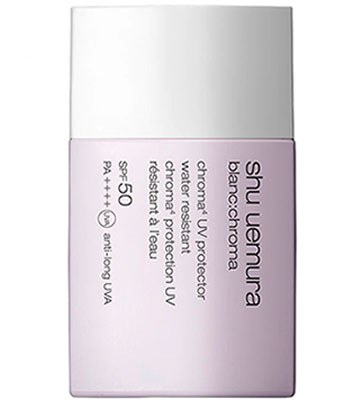 shu uemura - 4D透白UV輕感防護乳SPF 50 PA++++-40ml