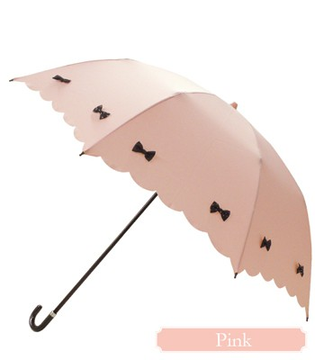 Japan buyer - Pink Trick立體蝴蝶結晴雨兩用折傘