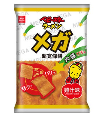 MyHuo Recommended Snacks - 超寬條餅大盛巨人包-雞汁口味-175g