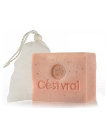 Cest vrai - 紅玉玫瑰保濕奇肌亮顏植萃皂-120g