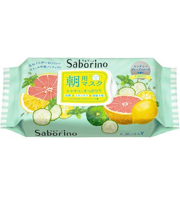 BCL - Saborino 早安面膜(11/24到貨)- 清爽型-32片