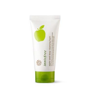 Innisfree - 蘋果籽深層潔顏泡泡-150ml