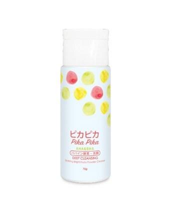 Pika Pika - 深層潔淨水果亮白煥膚洗顏粉-75g
