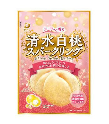 MyHuo Recommended Snacks - Pine 清水白桃硬糖-77.4g