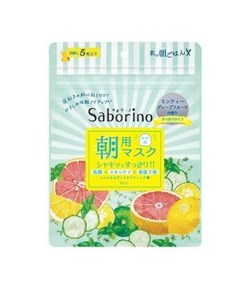 BCL - Saborino 早安面膜- 清爽型-5片