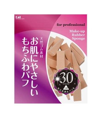 KAI - KQ-3063 三角粉撲-30入