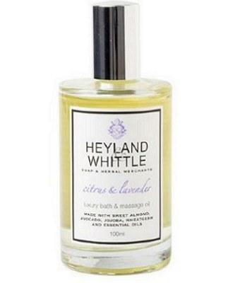 Heyland & Whittle - 柑橘薰衣草按摩精油-100ml