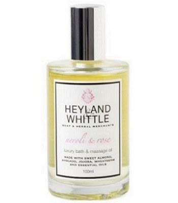 Heyland & Whittle - 橙花玫瑰按摩精油-100ml