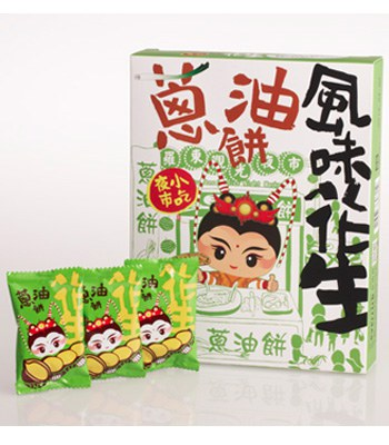 MyHuo Recommended Snacks - 蔥油餅風味花生-240g