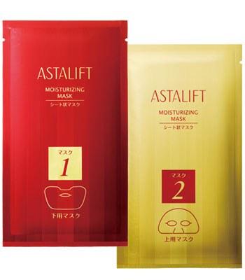 ASTALIFT - 水漾再生保溼面膜-6片