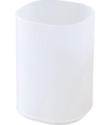 MUJI - PP化妝盒/刷具.化妝筆筒(P)-71x71x103mm