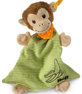 Steiff - 安撫巾-猴子-1入