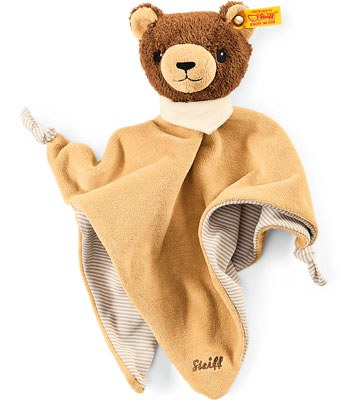 Steiff - 安撫巾-棕熊-1入