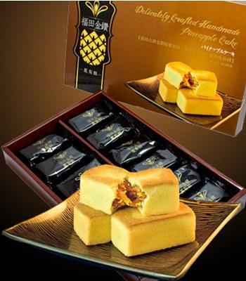 MyHuo Recommended Snacks (品牌85折) - 福田金鑽鳳梨酥-12入