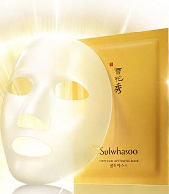 sulwhasoo - 潤燥精華面膜-5片
