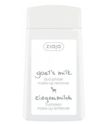 ziaja - 羊奶溫和眼唇卸妝液-120ml