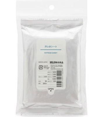 MUJI - 攜帶用拭汗濕紙巾