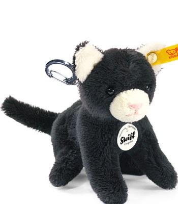 Steiff - 貓鑰匙圈-1入