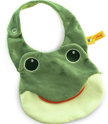 Steiff - 青蛙圍兜-1入