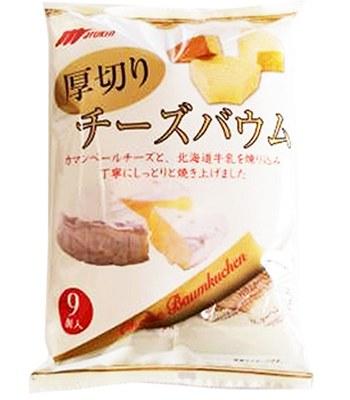 Marukin - 厚切起司年輪蛋糕-10入/包