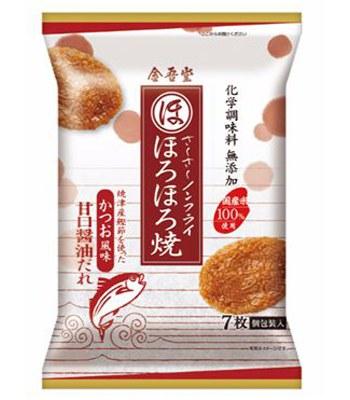 Japanese snacks - 金吾堂 和鹽米果-甘口醬油-7入