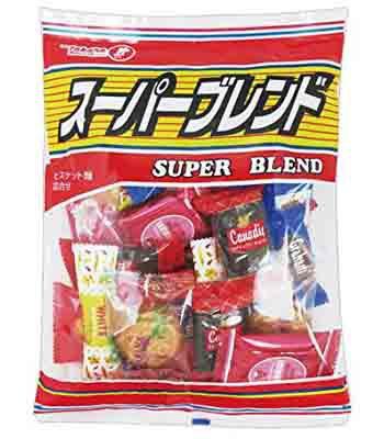 Japanese snacks - 寶製 綜合餅乾-330g