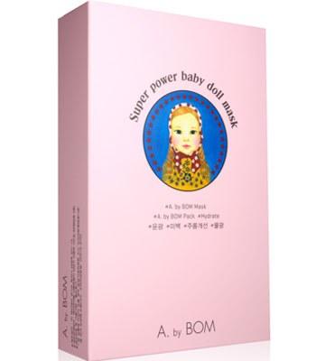 A.by BOM - 娃娃嬰兒面膜(盒裝)-10片