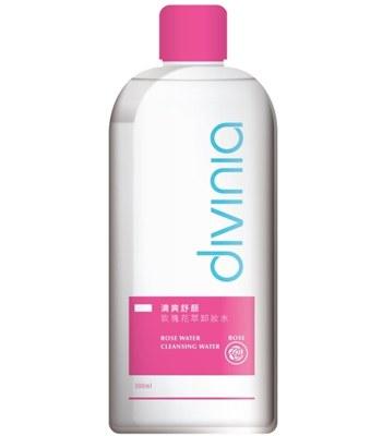 Divinia - 清爽舒顏玫瑰花萃卸妝水-300ml