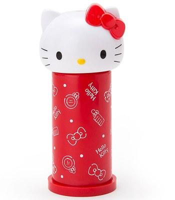 Japan buyer - 三麗鷗造型按壓式棉花棒桶